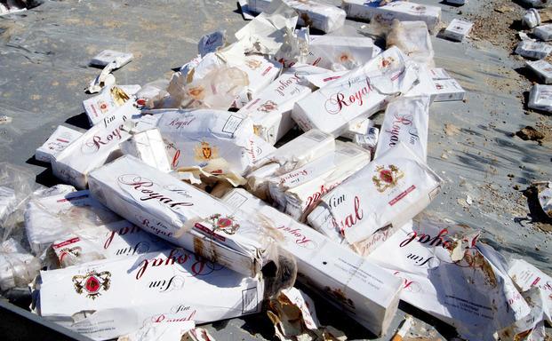 Αποκαλυπτικά στοιχεία για το λαθρεμπόριο τσιγάρων στην Ελλάδα
