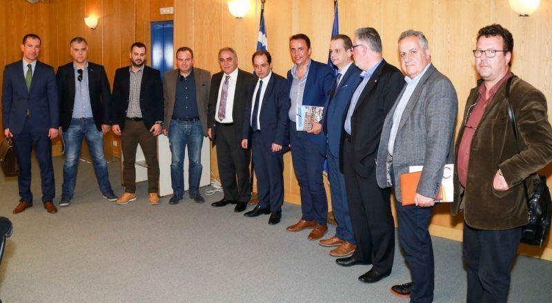 Συνάντηση του ΕΕΑ με τον Υπουργό Υποδομών – Μεταφορών κ. Χρ. Σπίρτζη