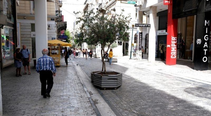 Πτώση τζίρου και ασφάλεια απασχολούν τους μικρομεσαίους της Αθήνας