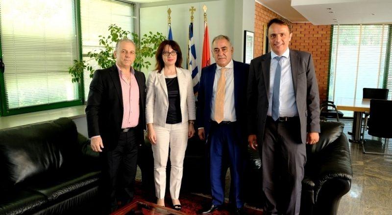 Συνάντηση ΕΕΑ – Αλβανικής πρεσβείας
