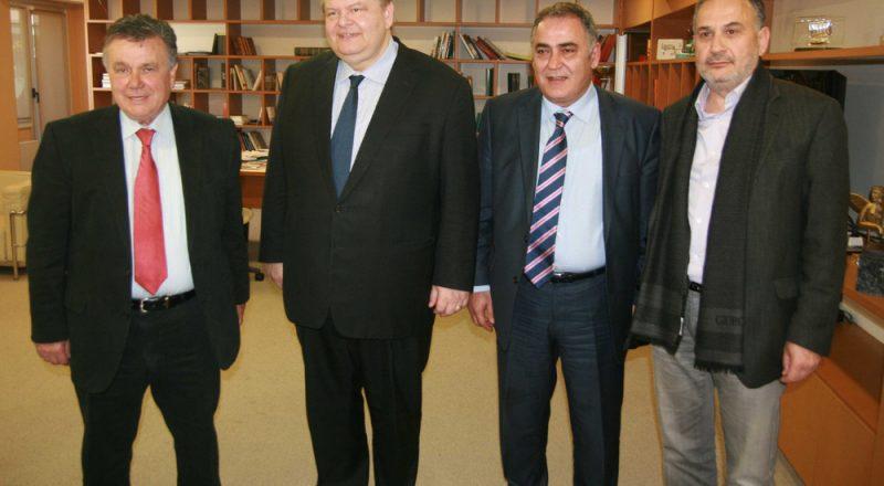 Συνάντηση ΕΕΑ με τον Πρόεδρο του ΠΑΣΟΚ Ευ. Βενιζέλο -video-
