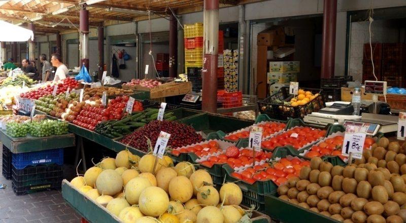 Αρνητική εξέλιξη: Αύξηση του όγκου εισαγωγής νωπών φρούτων και λαχανικών