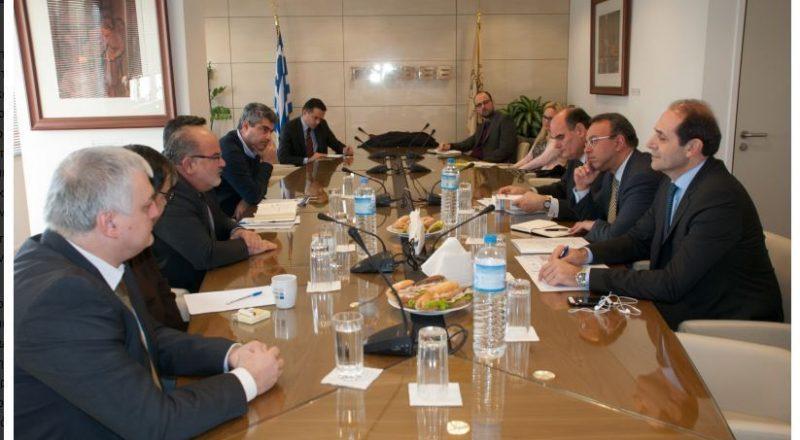 ΓΣΕΒΕΕ: Συνάντηση διοίκησης με Τομέα Οικονομικών της Νέας Δημοκρατίας