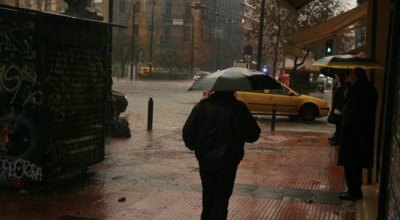 Αισθητή αλλαγή του καιρού. Ισχυρές βροχές και πτώση της θερμοκρασίας