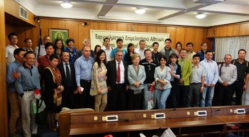 Κινέζική επιχειρηματική αποστολή στο ΕΕΑ-βίντεο
