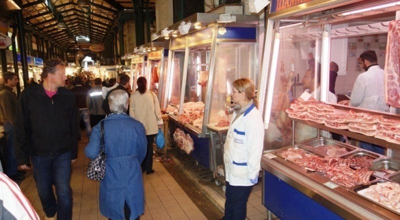Μικρή κίνηση στην αγορά το Μ. Σάββατο- βίντεο