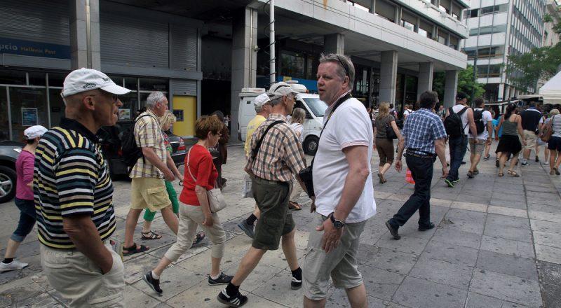 Αύξηση τουριστικής κίνησης και εισπράξεων στο οκτάμηνο του 2019