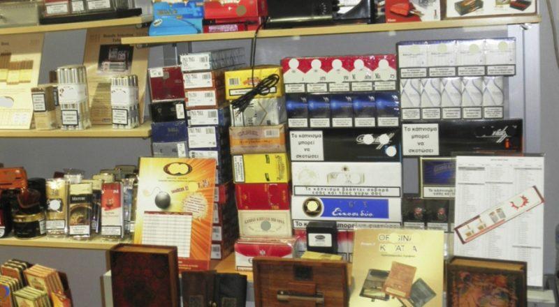 Κατάσχεση λαθραίων τσιγάρων