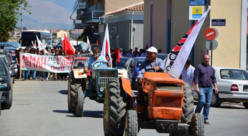 Συμβολικό κλείσιμο των εθνικών οδών από τους αγρότες για 1 ώρα