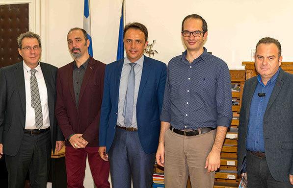 Συνάντηση αντιπροσωπείας του ΕΕΑ με τον Γ.Γ. Εμπορίου