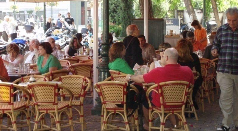 Αστυνομία Δ. Αθηναίων:Έλεγχοι της «κίτρινης γραμμής» τραπεζοκαθισμάτων