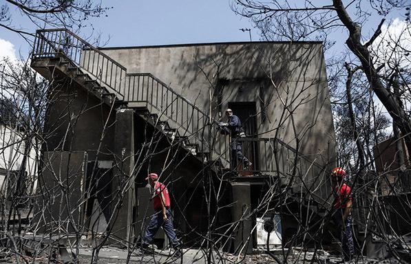 Ποιά μέτρα ανακοίνωσε ο ΕΦΚΑ για τους πυροπαθείς