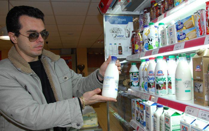 Η τιμή του φρέσκου γάλακτος μειώθηκε