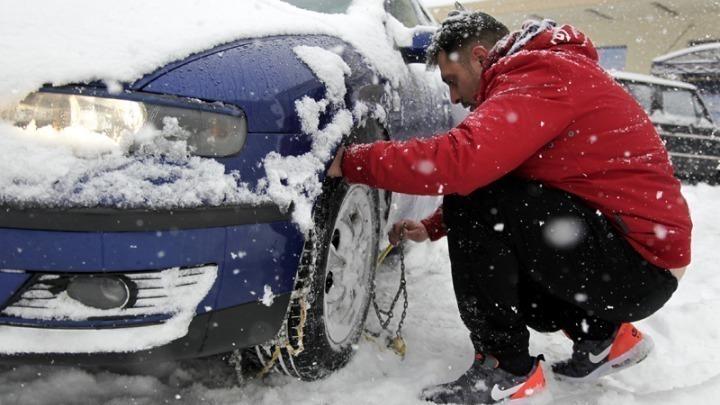 Κακοκαιρία, χιόνια και αντιολισθητικές αλυσίδες