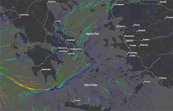 Οι τελευταίες προβλέψεις για την εξέλιξη του μεσογειακού κυκλώνα
