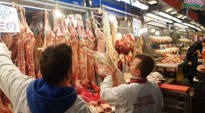 Συλλογή υπογραφών για υποχρεωτική αναγραφή προέλευσης του κρέατος