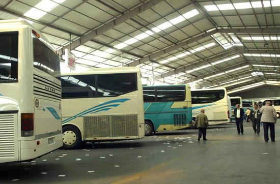 Nέος Κεντρικός Σταθμός  Υπεραστικών Λεωφορείων
