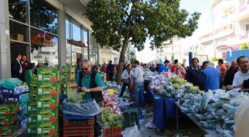 Κομποστοποίηση υπολειμμάτων των λαϊκών αγορών από τον Δ. Αθηναίων