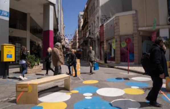 Τρεις νέοι πεζόδρομοι στο Εμπορικό Τρίγωνο της Αθήνας
