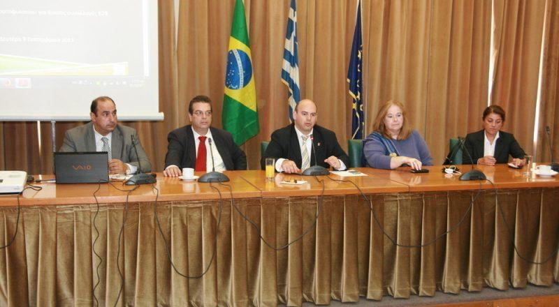 Αναπτύσσονται οι οικονομικές  σχέσεις Ελλάδος – Βραζιλίας – 2 βίντεο