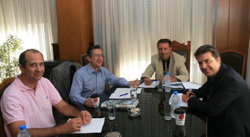 Συνάντηση του ΕΕΑ με τον βουλευτή Νίκο Νικολόπουλο -video-
