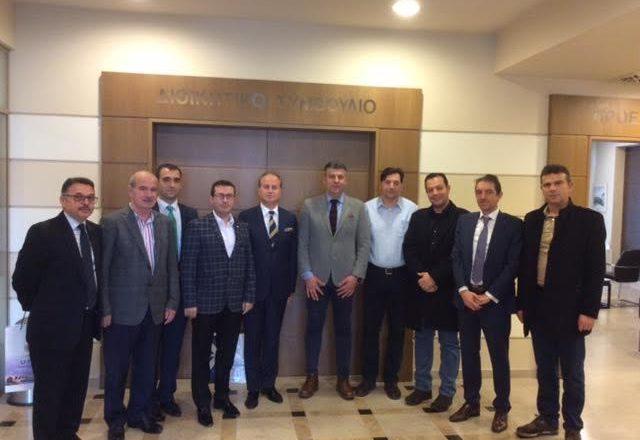 Επιμελ.Έβρου:Συνάντηση εργασίας με το Επιμελητήριο Oζούνκιοπρού