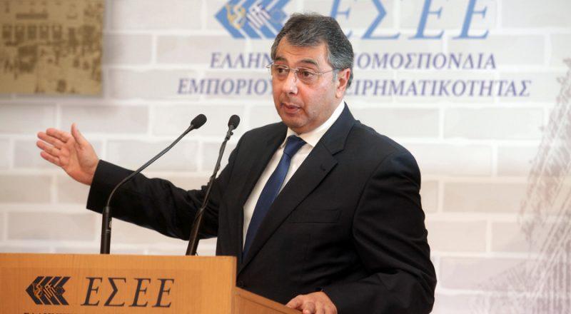 Αποχωρεί από τη θέση του Προέδρου της ΕΣΕΕ ο Β. Κορκίδης