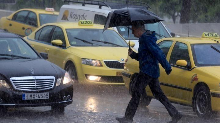 Επιδείνωση του καιρού με ισχυρές καταιγίδες και λασποβροχές