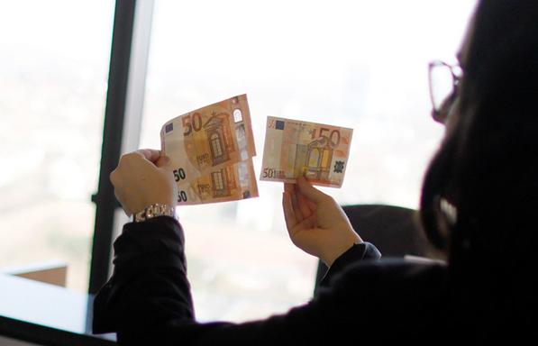 Πώς εντοπίζονται τα πλαστά χαρτονομίσματα;