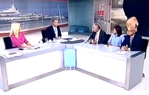 Ο πρόεδρος του ΕΕΑ στο δελτίο ειδήσεων του ΣΚΑΙ για το ασφαλιστικό