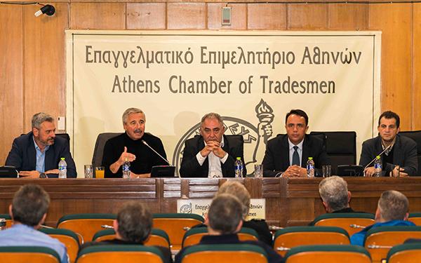 Γ. Μανιάτης στο ΕΕΑ: Απαραίτητος κρίκος για ανάπτυξη τα Επιμελητήρια