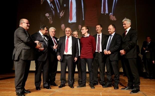 Η απονομή επιχειρηματικών βραβείων από το Ε.Ε.Α. στο ΣΚΑΪ
