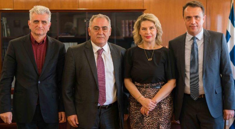 Συνάντηση αντιπροσωπείας του ΕΕΑ με την Υφυπουργό Προστασίας του Πολίτη