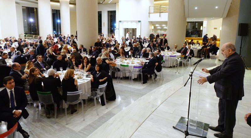 Λαμπρή και φέτος η εκδήλωση κοπής της βασιλόπιτας του ΕΕΘ