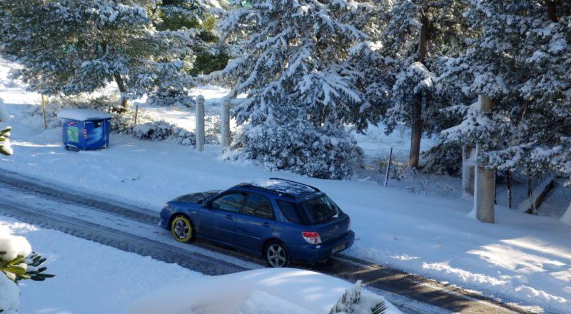 Χιονοπτώσεις και στην Αττική φέρνει η «Ζηνοβία»