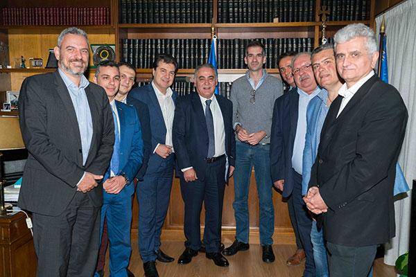Συνάντηση της Διοίκησης του Ε.Ε.Α. με τον υποψήφιο δήμαρχο Αθηναίων κ. Κώστα Μπακογιάννη