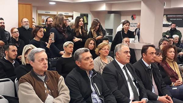 Το ΕΕΑ στην κοπή πίτας της Καλλιτεχνικής Ένωσης Κομμωτών Ελλάδος
