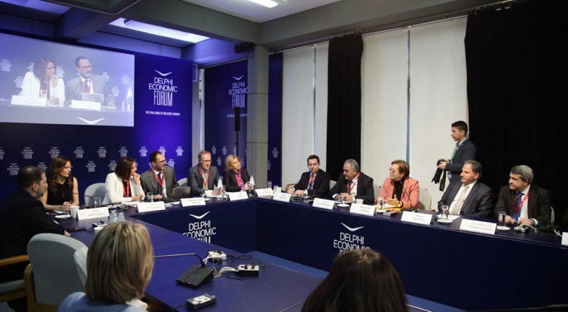 Ο Πρόεδρος του Ε.Ε.Α. για το Ασφαλιστικό στο 4ο Οικονομικό Φόρουμ των Δελφών – Βίντεο
