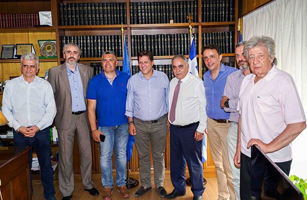 Ο Μιλτιάδης Βαρβιτσιώτης επισκέφθηκε το Ε.Ε.Α.