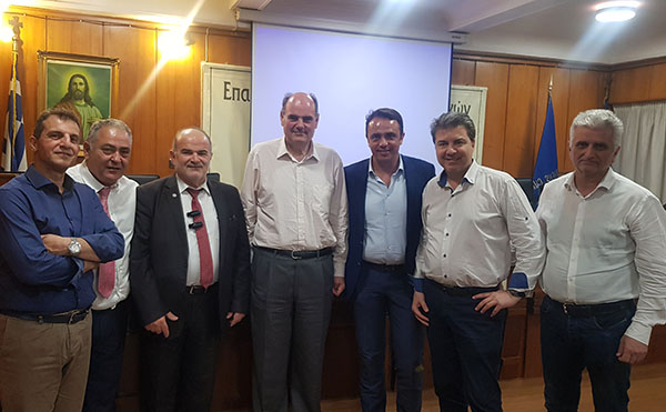Το Ε.Ε.Α. επισκέφθηκε ο Θ. Φορτσάκης