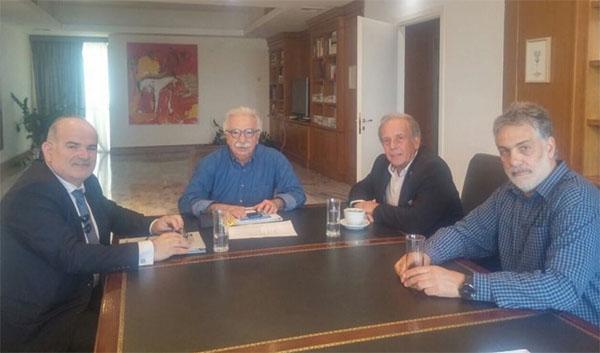 Η επαγγελματική εκπαίδευση στο επίκεντρο της συνάντησης ΓΣΕΒΕΕ – Γαβρόγλου