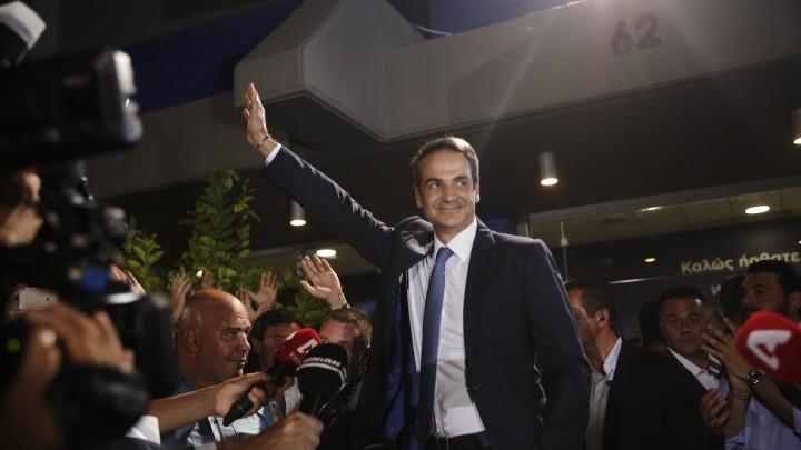 Ορκίζεται σήμερα πρωθυπουργός ο Κυριάκος Μητσοτάκης