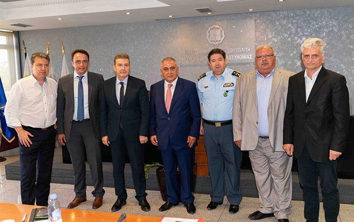 Μ. Χρυσοχοΐδης: Άμεσα αποτελέσματα σε ασφάλεια και παρεμπόριο, σε συνεργασία με ΕΕΑ και φορείς