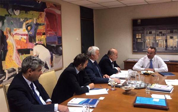 Συνάντηση ΓΣΕΒΕΕ με τον Υπουργό Οικονομικών