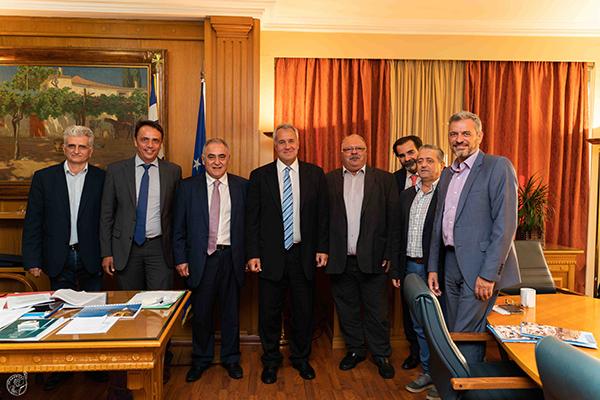 Συνάντηση Ε.Ε.Α. με τον Υπουργό Αγροτικής Ανάπτυξης και Τροφίμων Μ. Βορίδη