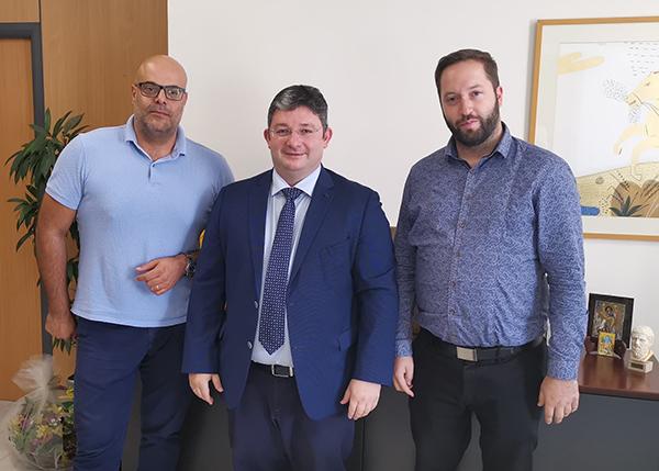 Επιτροπή ΟΤΑ Ε.Ε.Α.: Συνάντηση με τον Δήμαρχο Αχαρνών