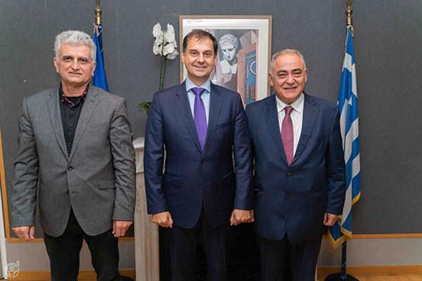 Πρόταση του Ε.Ε.Α. στον Χ. Θεοχάρη για ανάδειξη του ιστορικού κέντρου της Αθήνας και τόνωση του επιχειρείν