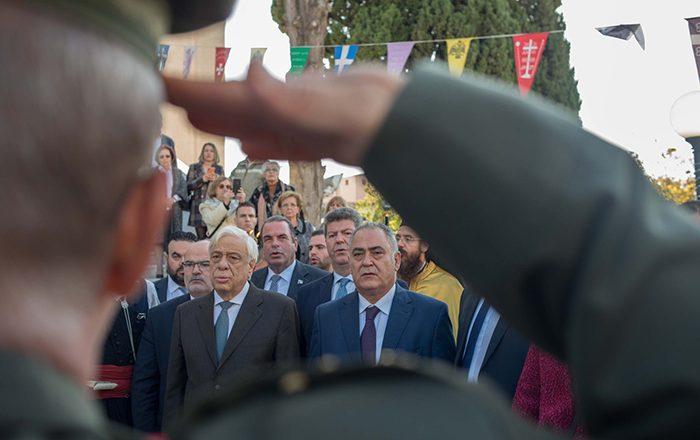 Τιμητική διάκριση του Γ. Χατζηθεοδοσίου, παρουσία του ΠτΔ κ. Προκόπη Παυλόπουλου