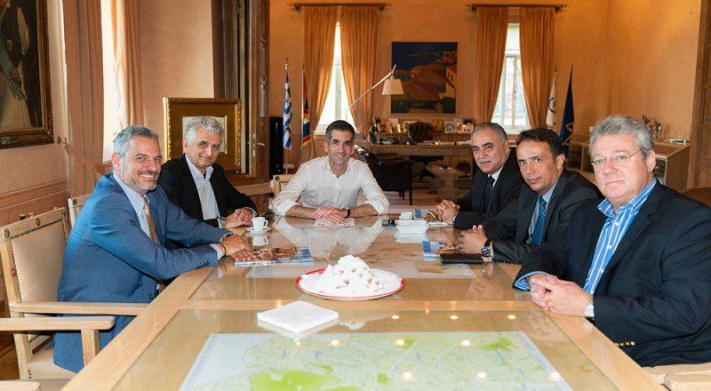 Σύμφωνο συνεργασίας Ε.Ε.Α. με Δήμο Αθηναίων