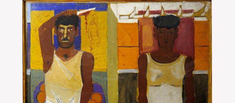 Έκθεση ζωγραφικής «Χασάπηδες και Κριοφόροι» με έργα Ξενάκη στο Μέγαρο Εϋνάρδου